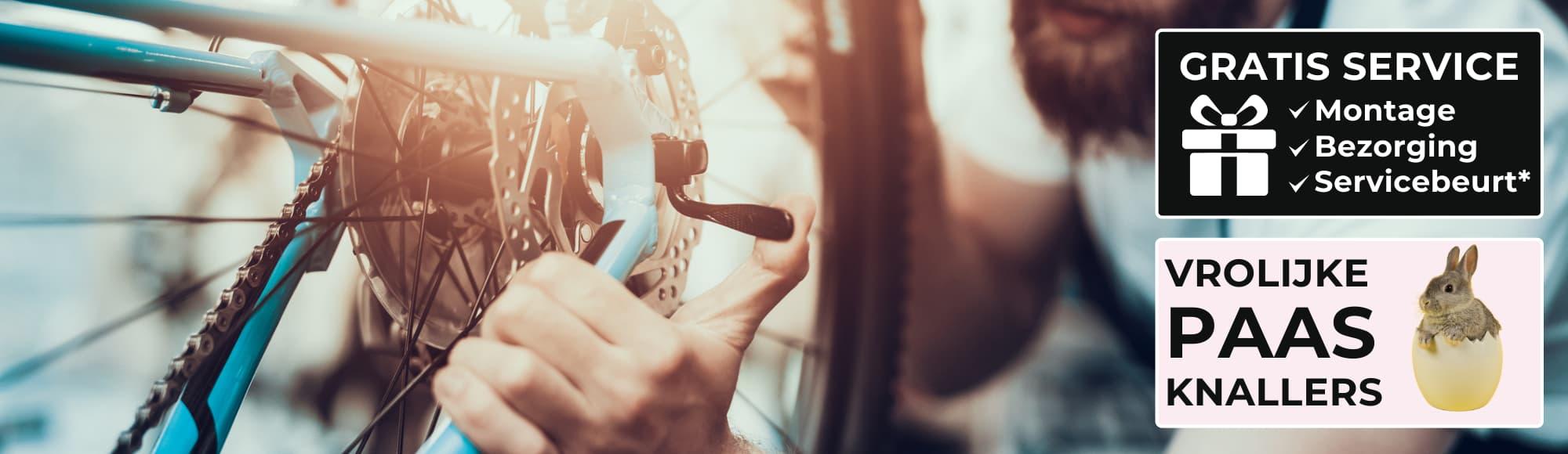 Online fietsenwinkel en fietsenmaker aan huis 1 in