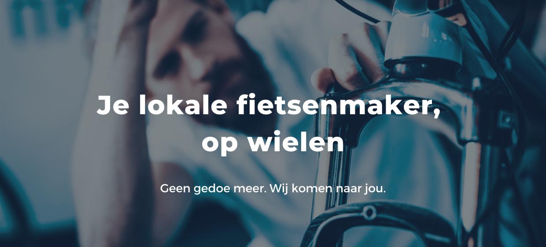 Fietsuniek.nl levert fietsservice aan huis waar en wanneer je wilt