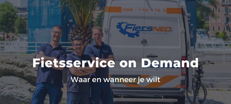 Fietsuniek.nl levert de beste fietsservice waar je wilt, wanneer je wilt.