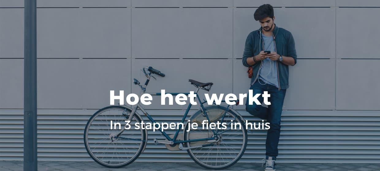 Fiets online bestellen bij Fietsuniek.nl. Hoe werkt het?