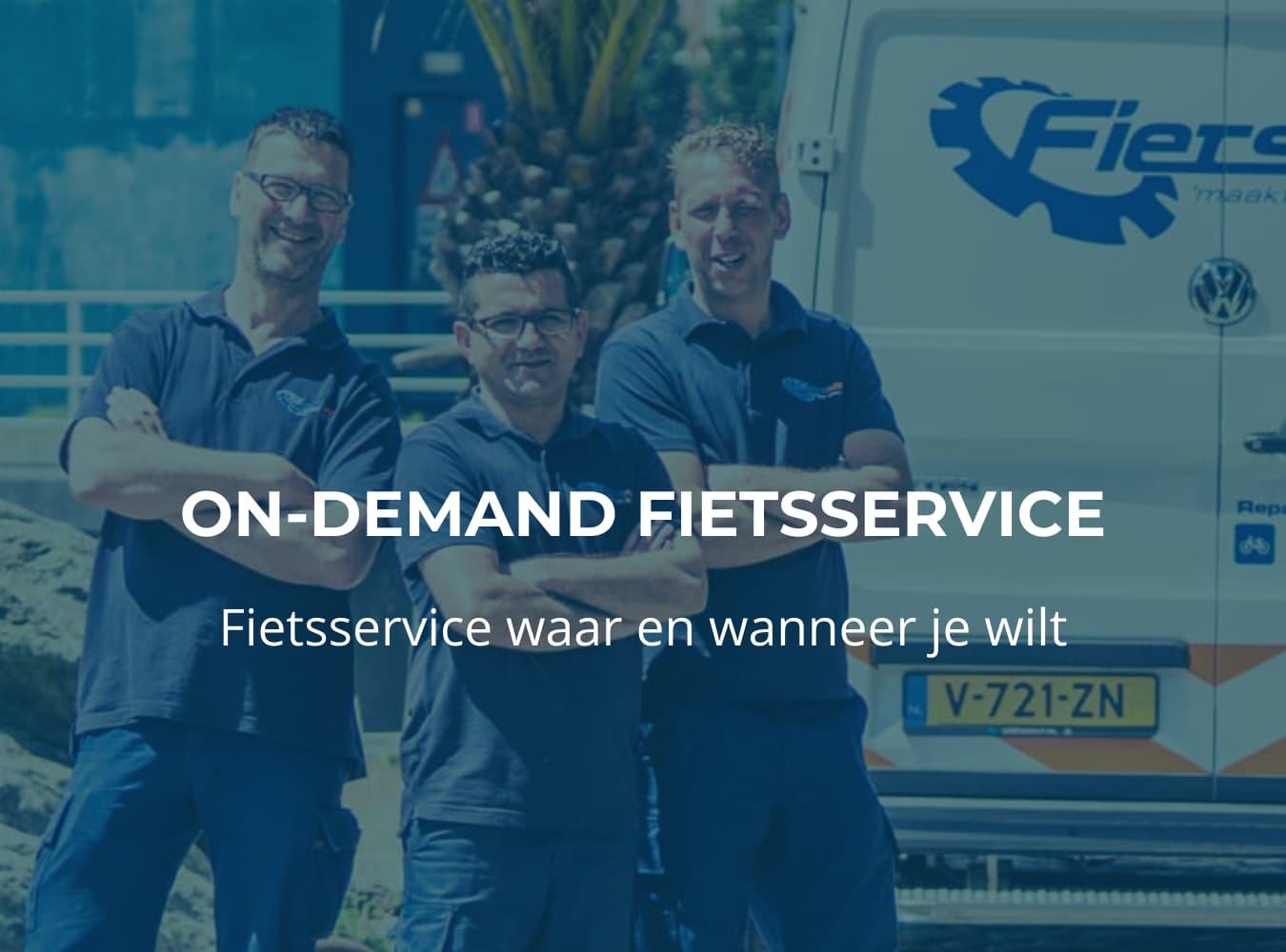 Fiets online bestellen bij Fietsuniek.nl. De beste fietsservice op locatie waar en wanneer je wilt