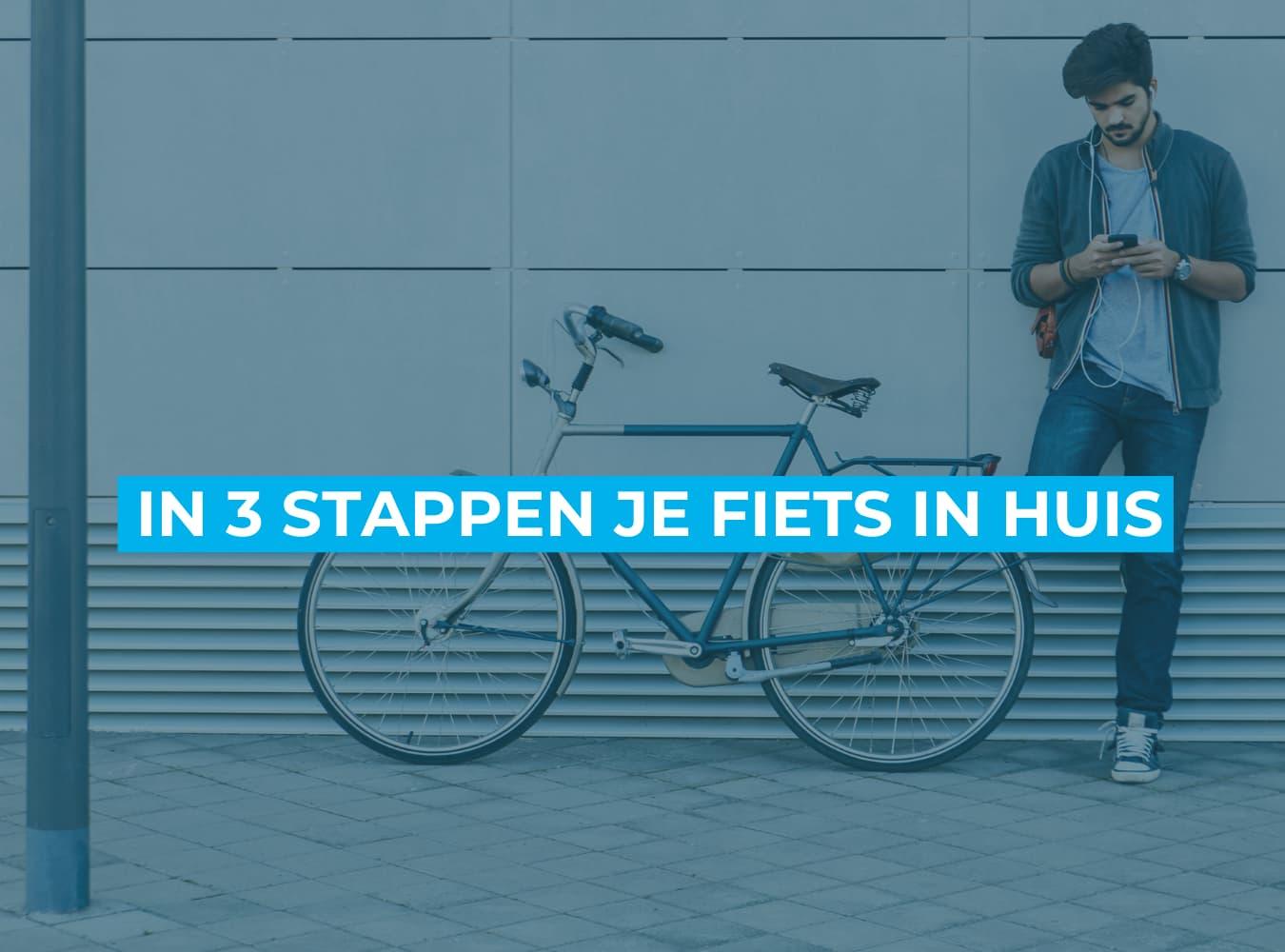 Fiets online bestellen bij Fietsuniek.nl. In 3 stappen je fiets in huis.