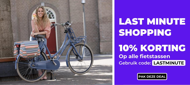 10 Korting op alle fietstassen