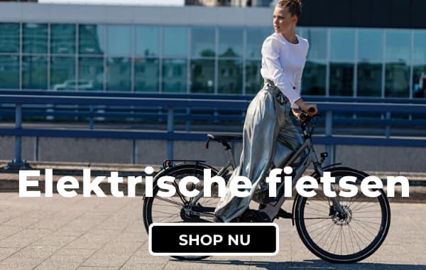 De grootste collectie elektrische fietsen bij Fietsuniek.nl. Gratis montage. Gratis thuisbezorgd. Gratis 1ste servicebeurt.