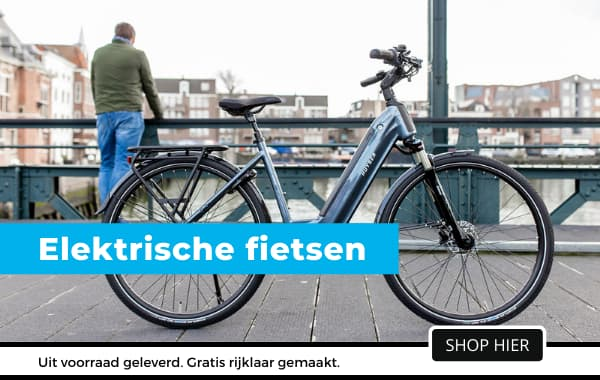 De grootste collectie elektrische fietsen bij Fietsuniek.nl. Nu inclusief gratis montage, thuisbezorgen en 1ste servicebeurt.