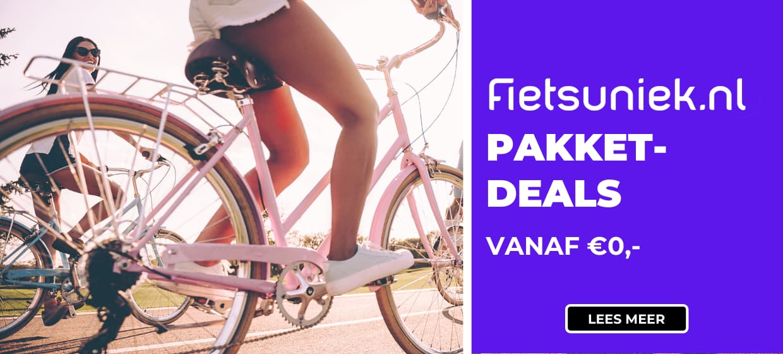 Met de Fietsuniek Pakketdeals kies je de fietsservice die bij jou past tegen een scherpe prijs. Lees hier meer over de voordelen.