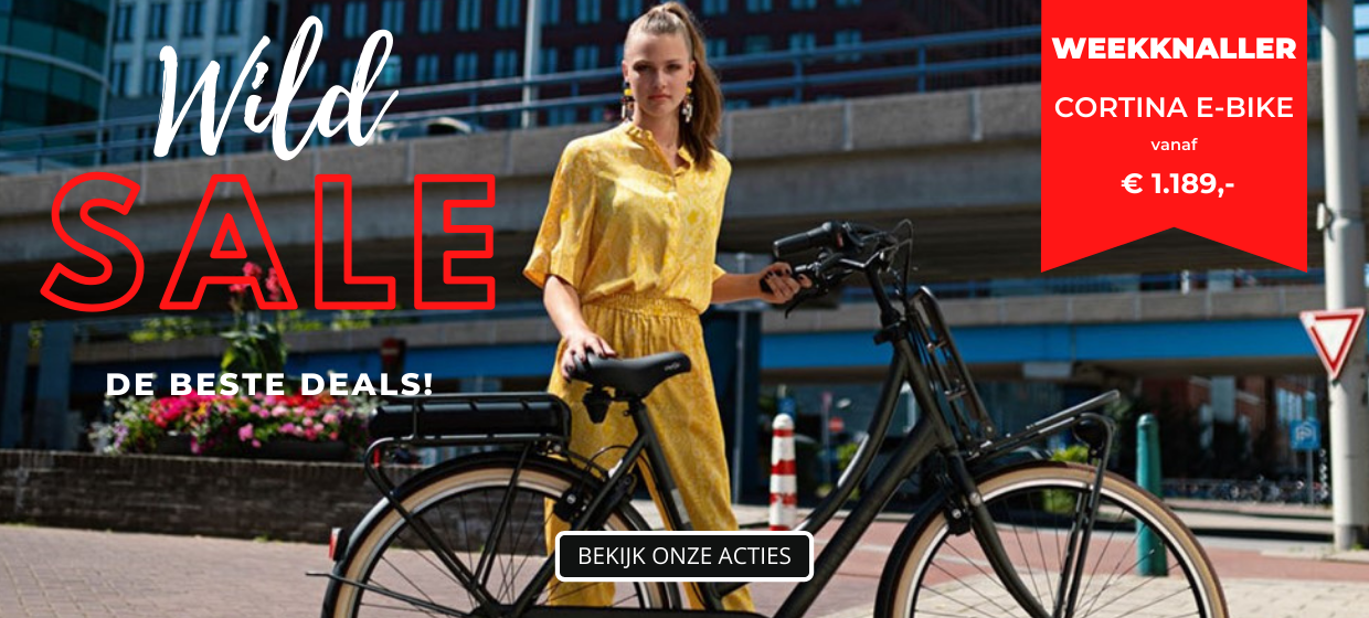 SALE De beste deals - Weekknaller Cortina e-bike vanaf 1189 euro