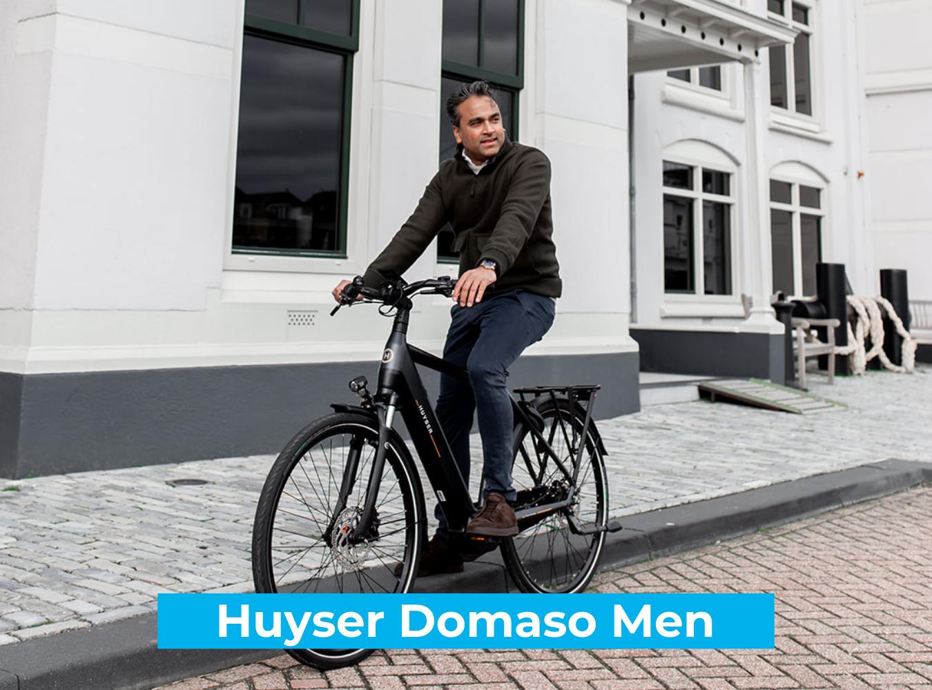 Koop de Huyser Domaso Men online bij Fietsuniek.nl en profiteer van een gratis EPIC service-upgrade met complete fietsservice door fietsenmakers aan huis.