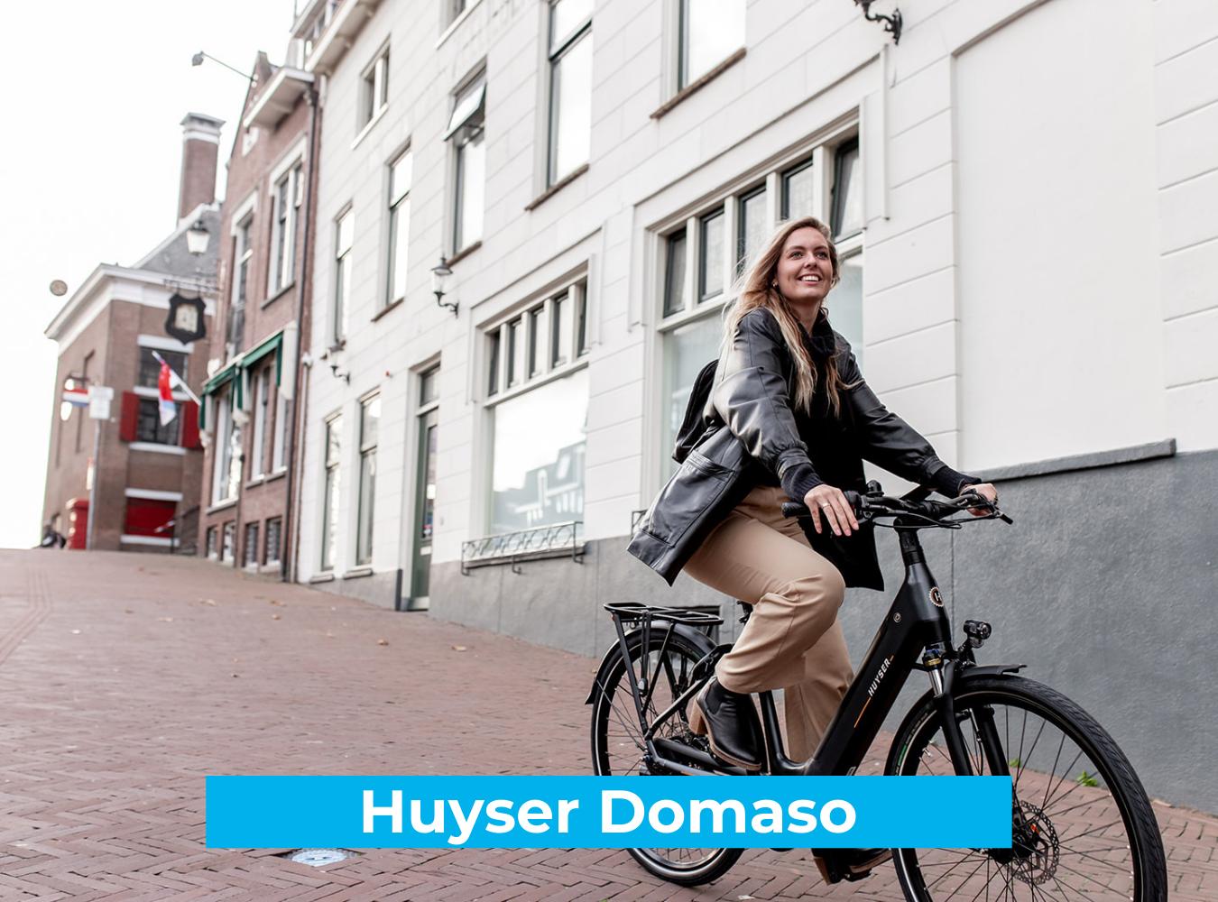 Koop de Huyser Domaso online bij Fietsuniek.nl en profiteer van een gratis EPIC service-upgrade met complete fietsservice door fietsenmakers aan huis.