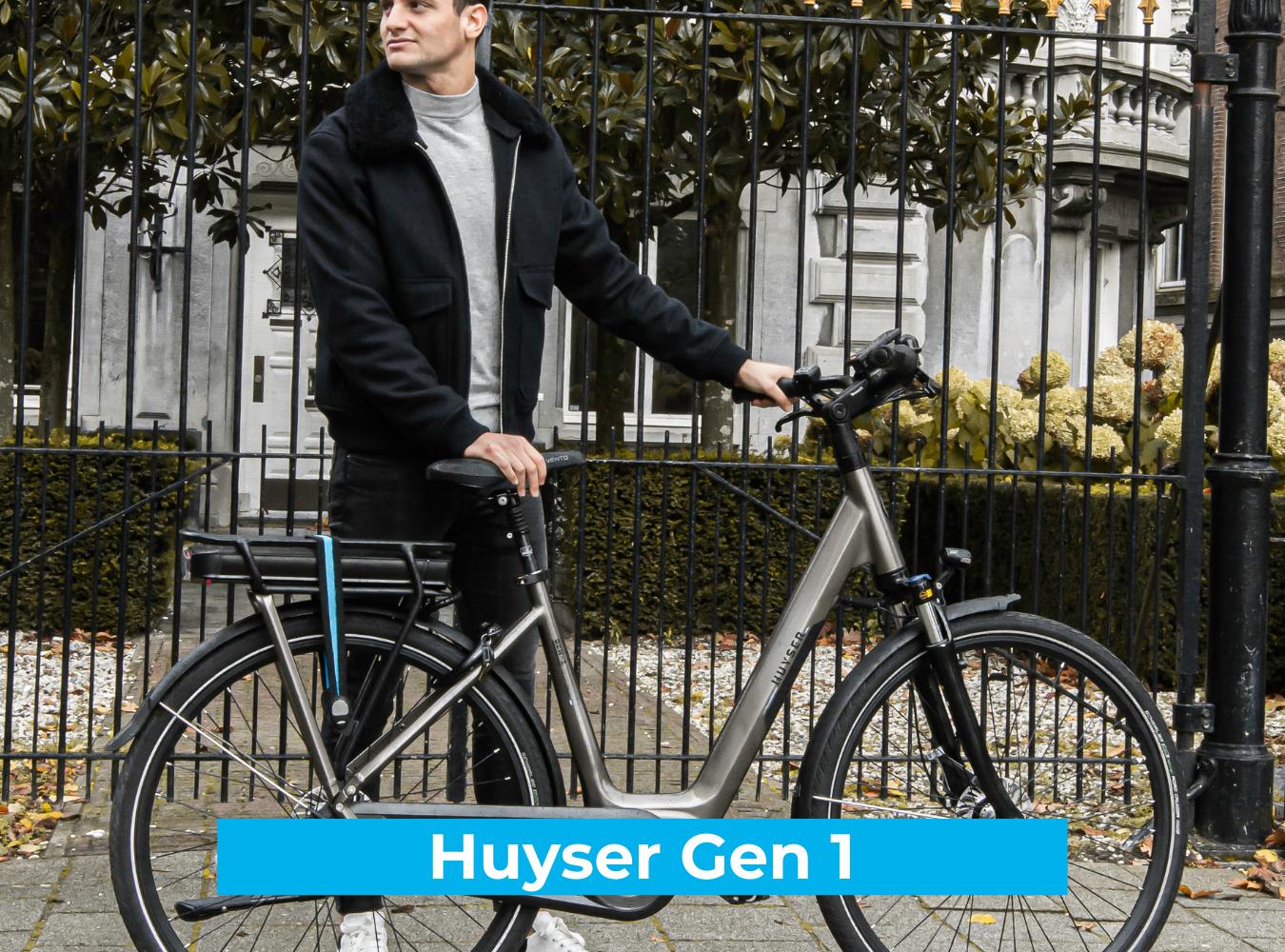 Koop de Huyser Gen 1 online bij Fietsuniek.nl en profiteer van een gratis EPIC service-upgrade met complete fietsservice door fietsenmakers aan huis.
