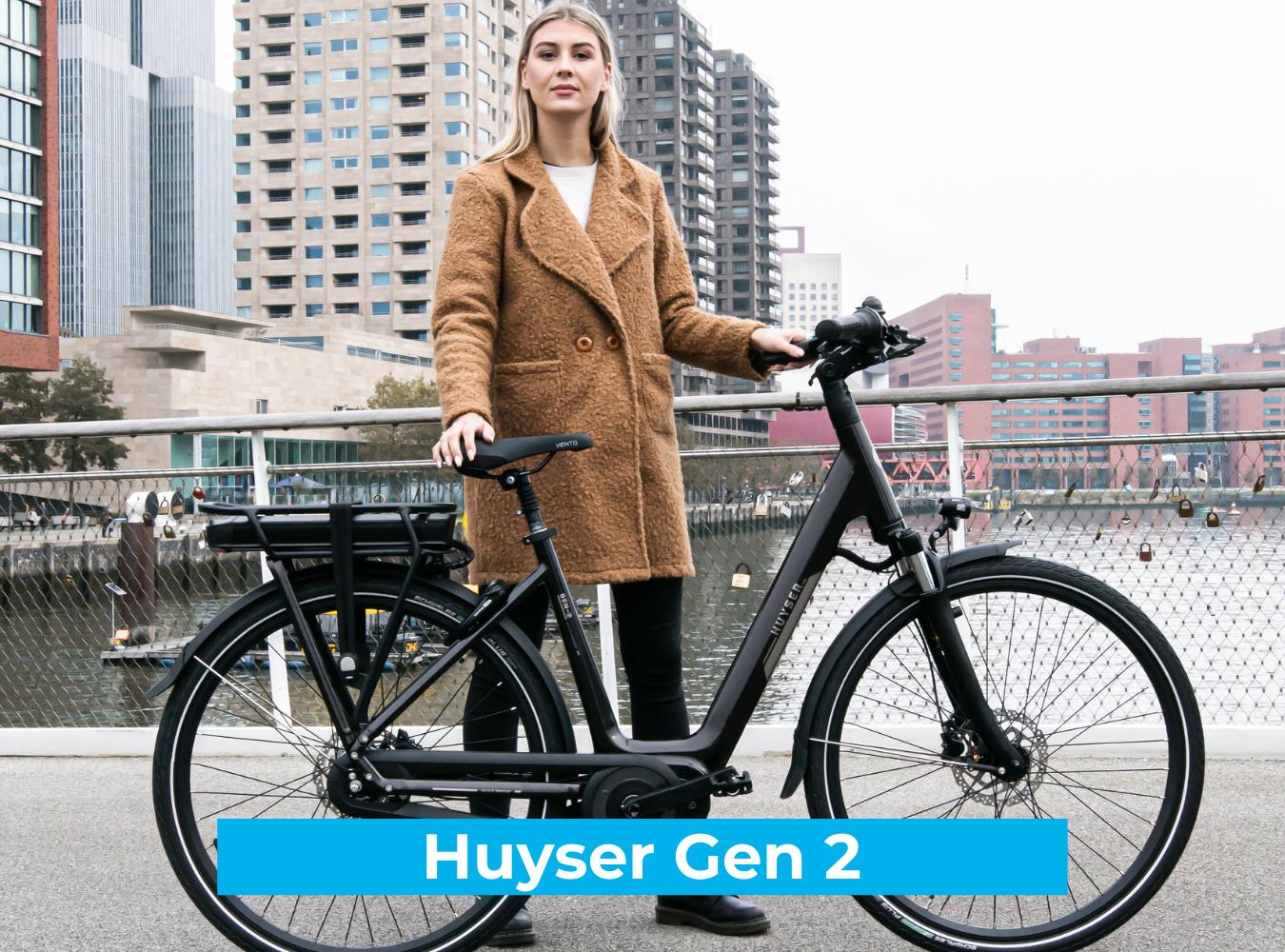 Koop de Huyser Gen 2 online bij Fietsuniek.nl en profiteer van een gratis EPIC service-upgrade met complete fietsservice door fietsenmakers aan huis.