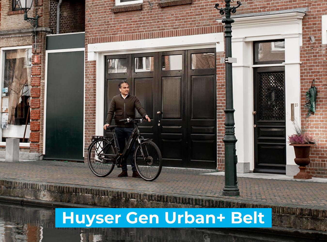 Koop de Huyser Gen Urban  Belt online bij Fietsuniek.nl en profiteer van een gratis EPIC service-upgrade met complete fietsservice door fietsenmakers aan huis.