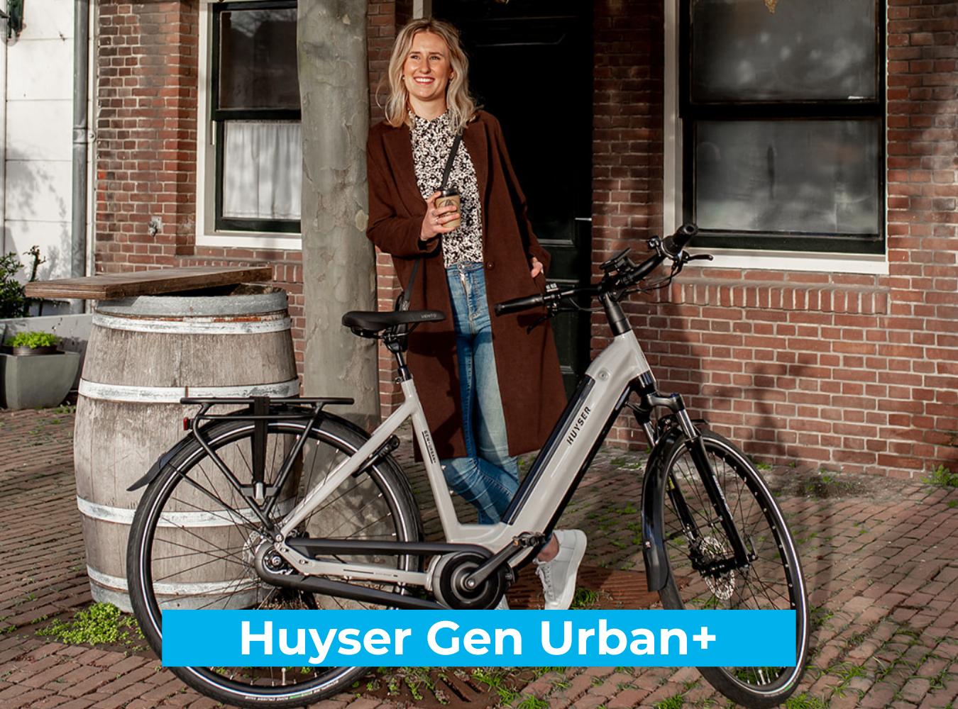 Koop de Huyser Gen Urban  online bij Fietsuniek.nl en profiteer van een gratis EPIC service-upgrade met complete fietsservice door fietsenmakers aan huis.