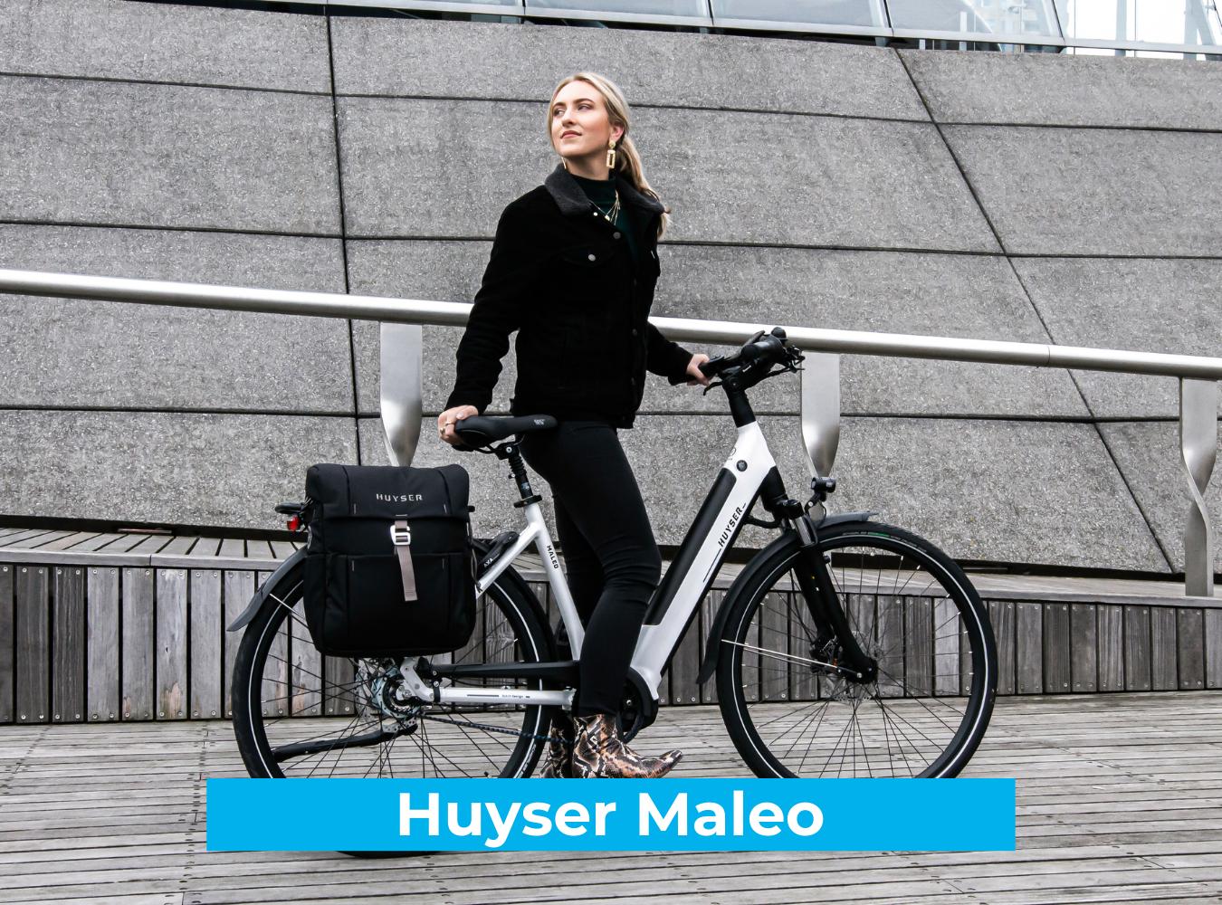 Koop de Huyser Maleo online bij Fietsuniek.nl en profiteer van een gratis EPIC service-upgrade met complete fietsservice door fietsenmakers aan huis.