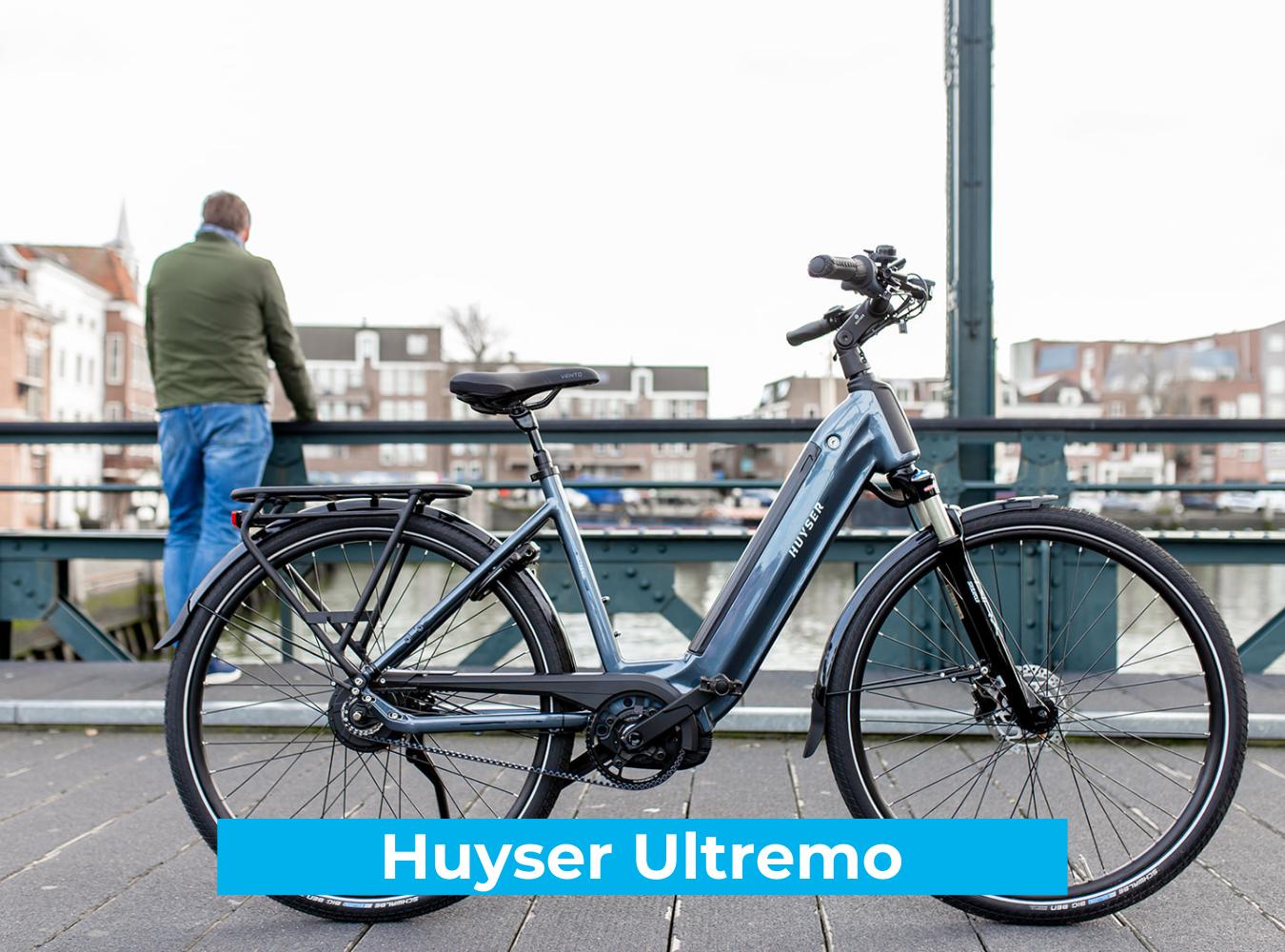 Koop de Huyser Ultremo online bij Fietsuniek.nl en profiteer van een gratis EPIC service-upgrade met complete fietsservice door fietsenmakers aan huis.