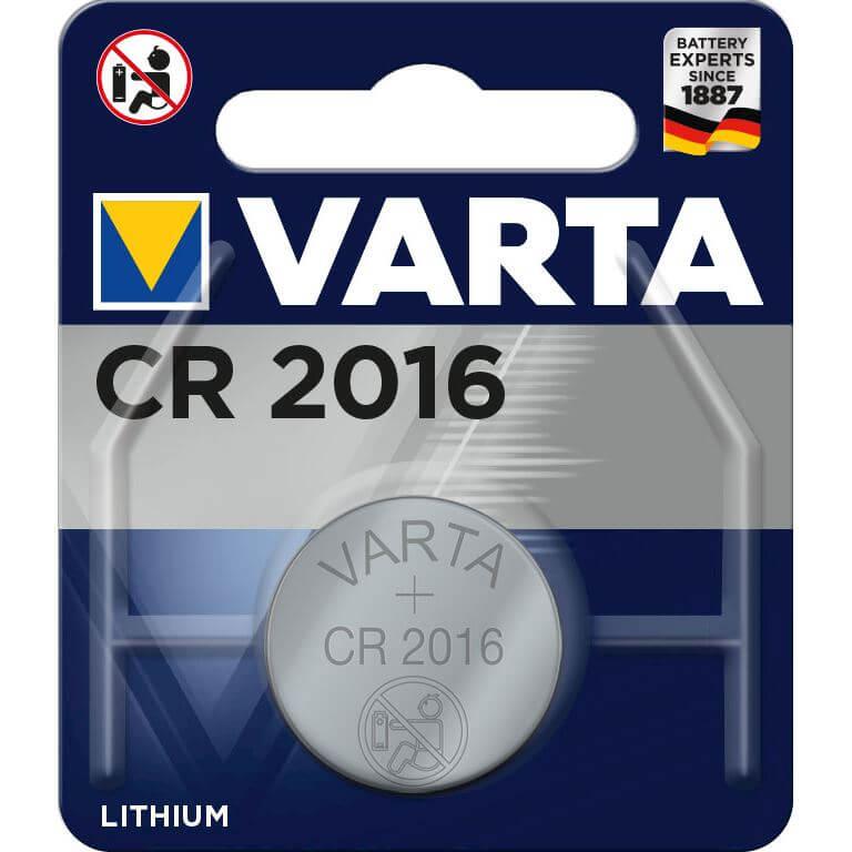 Varta batt CR2016 Lith 3V
