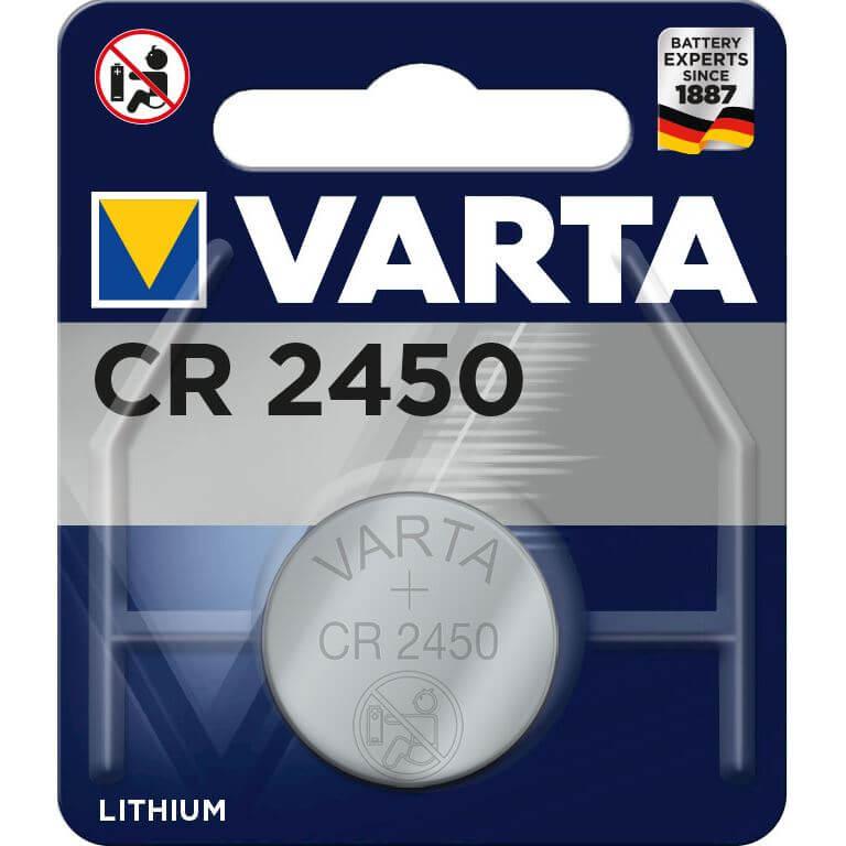 Varta batt CR2450 Lith 3V