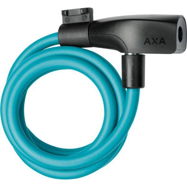 Axa Kabelslot Resolute 120/8 Ice Blue