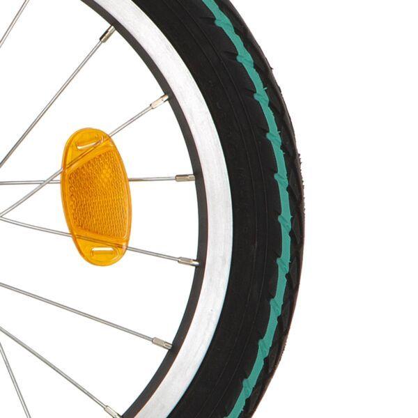 Deli Tire btb SA-206 16 x 1.75 zw groene streep