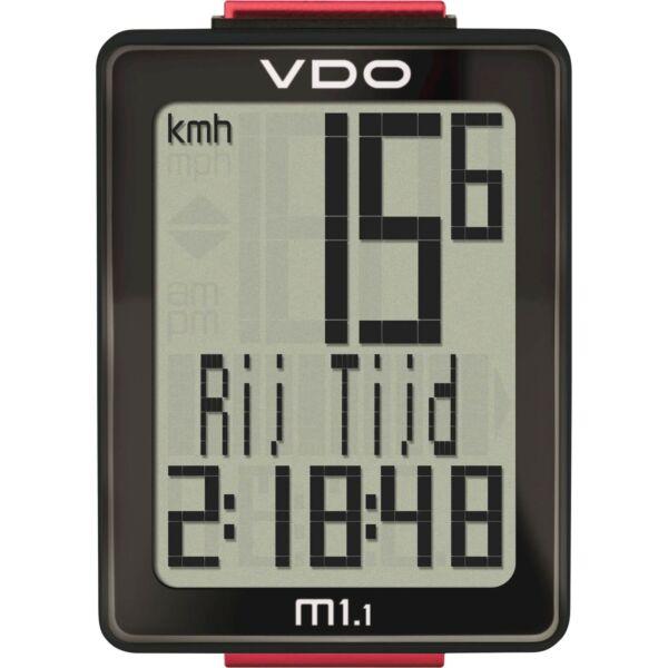 VDO fietscomputer M1.1 WL draadloos