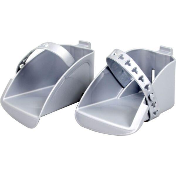 Polisport voetenbakset achter Bubbly zilver