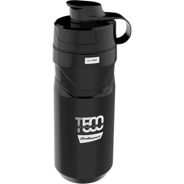 Polisport thermo bidon T500 black/grey