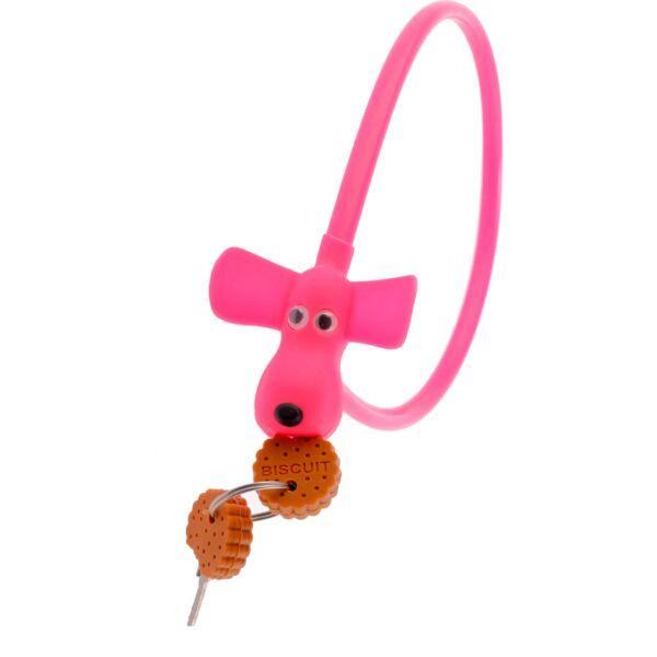 PexKids kabelslot Flappie de waakhond roze