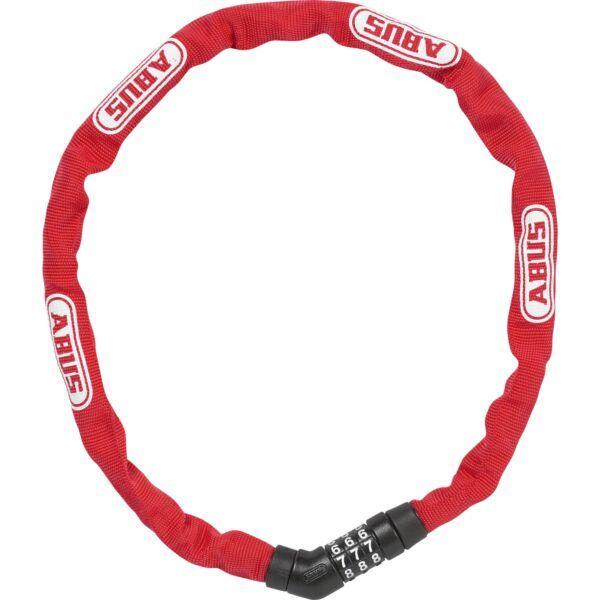 Abus kettingslot code Steel-O-Chain 4804C/75 red