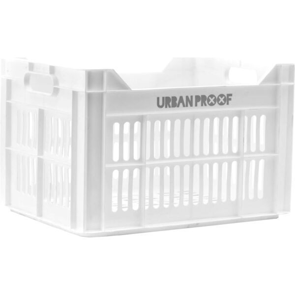 Urban Proof fietskrat 30 liter wit