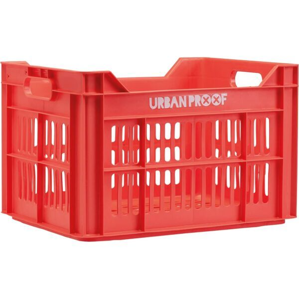 Urban Proof fietskrat 30 liter Lobster rood