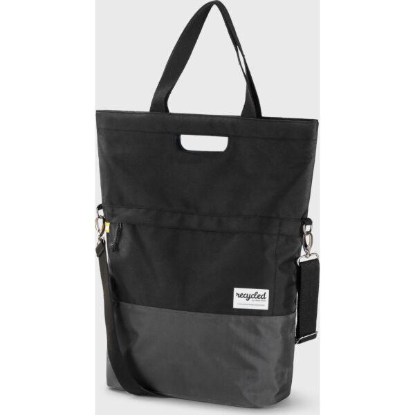Urban Proof shoppertas 20L recycled zwart grijs