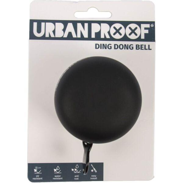 Urban Proof bel Ding Dong 60mm mat zwart / grijs