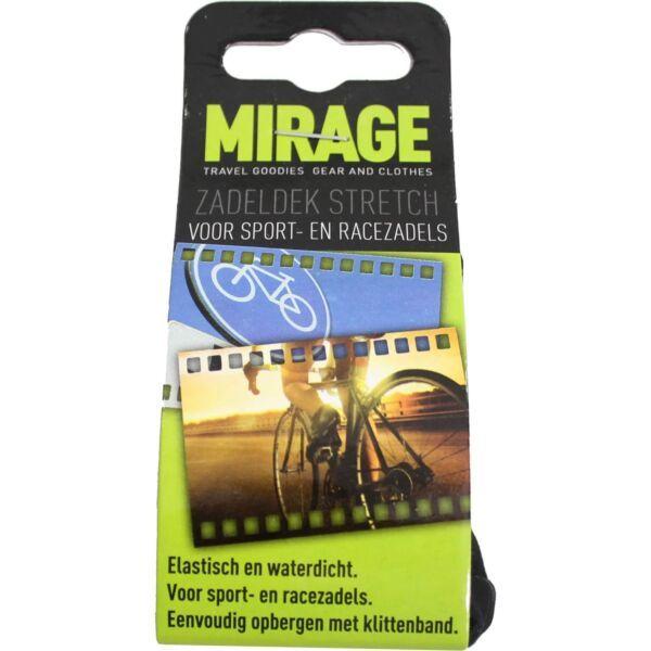 Catch it Mirage zadeldek sport zwart
